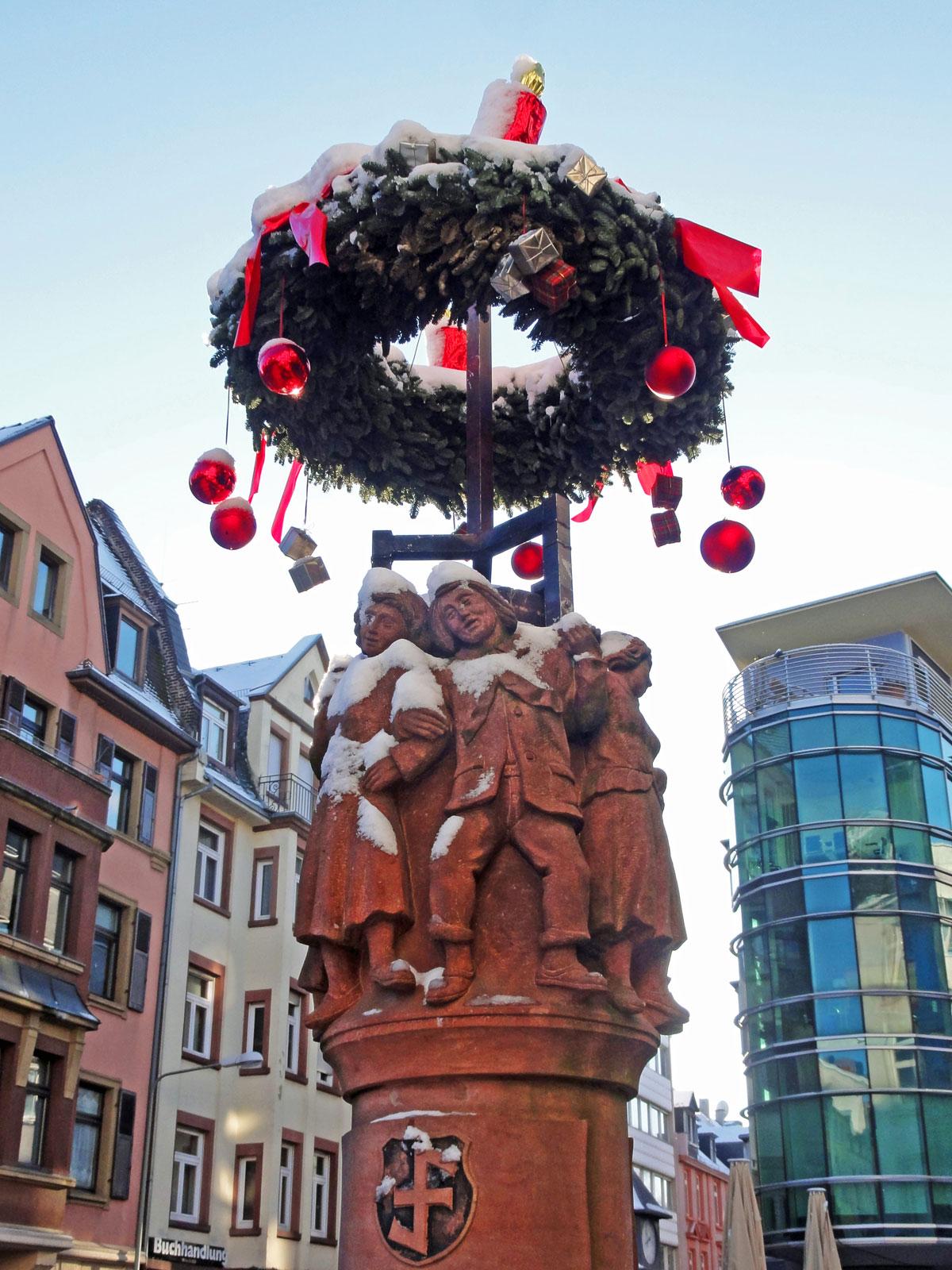 Weihnachtsbeleuchtung Berger Straße