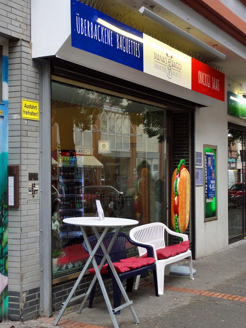Baguettes bei Dianas Baggi in Bornheim auf der Berger Straße