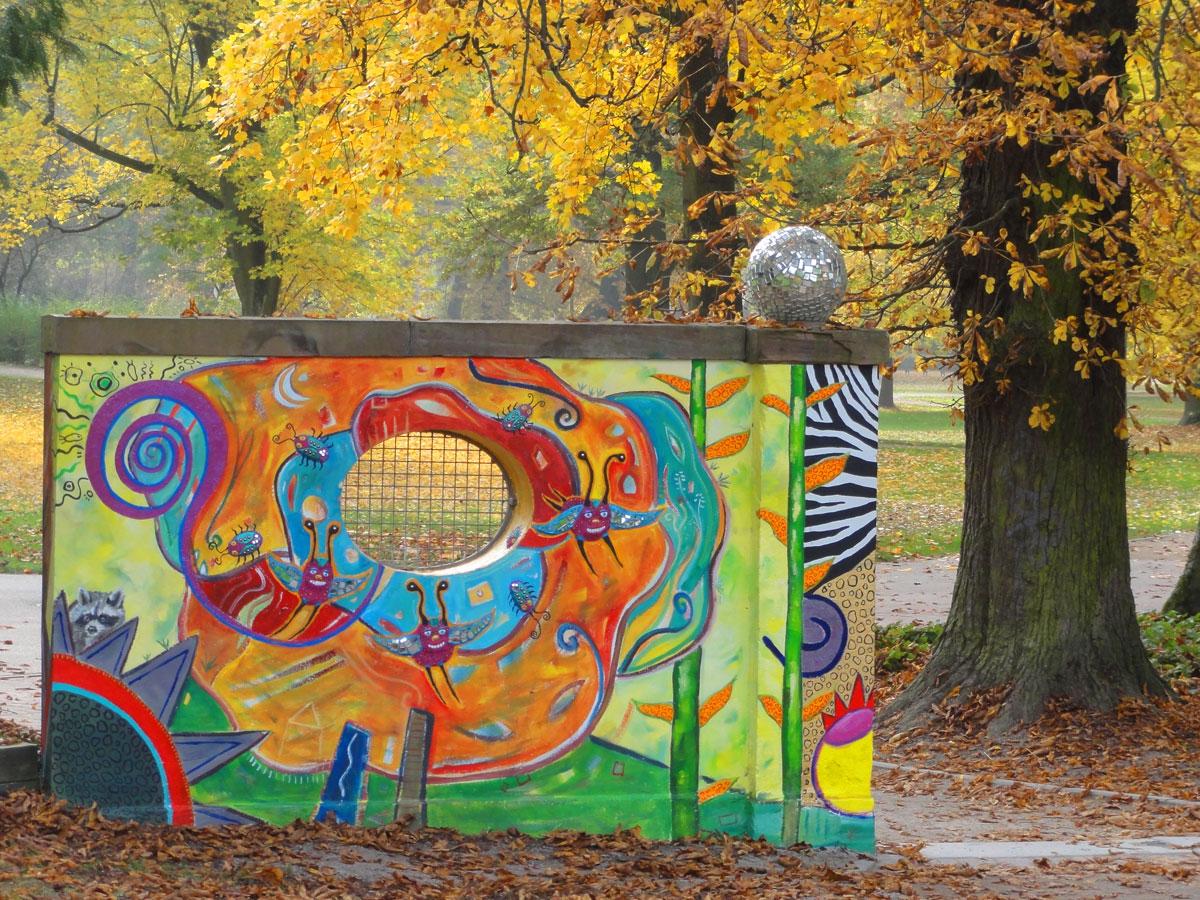 guenthersburgpark frankfurt bemalte wand 5