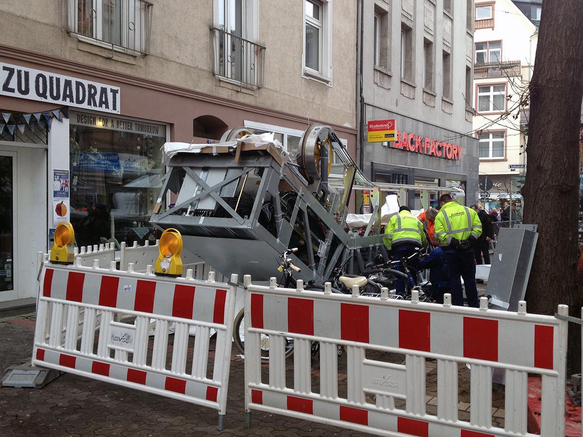 bornheim mitte frankfurt neue rolltreppe 1