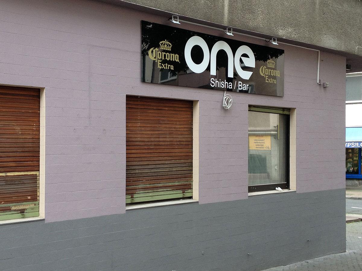 Shisha Bar One auf der Berger Straße