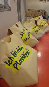 Plastikfreie Taschen basteln für die Kerb
